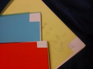 Tapas de fotocopias para hacer flash de colores