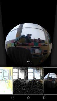 Modo creativo cámara Sony