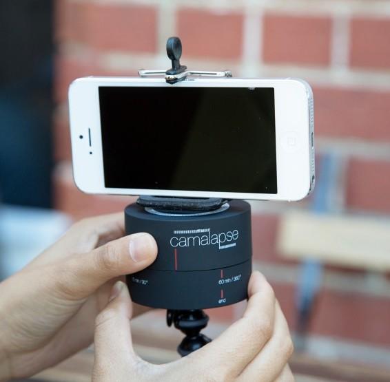 base rotativa para imágenes 360°