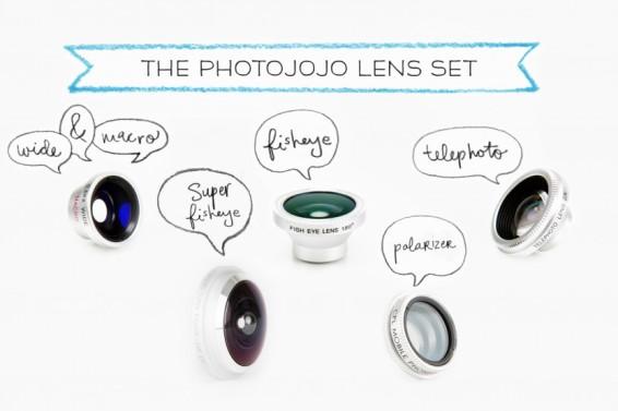 Set de lentes para celulares