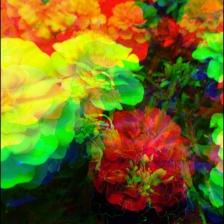 Efecto sombras colores Xperia.