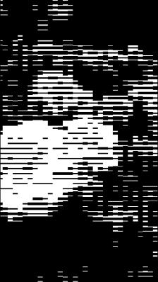 Efecto mosaico líneas Xperia.