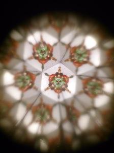 Foto desde caleidoscopio